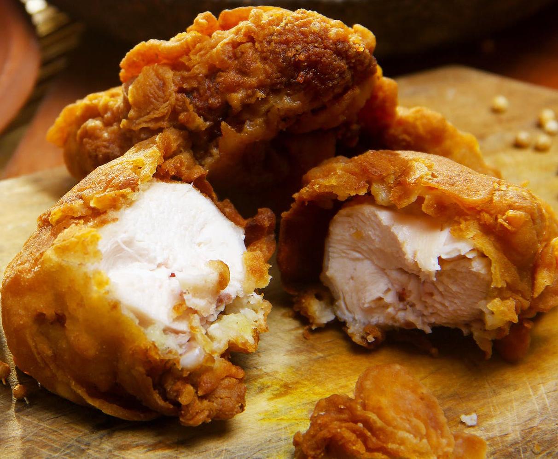 Roasted Chicken Stacks