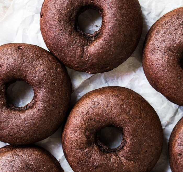 Low Carb Chocolate Donuts