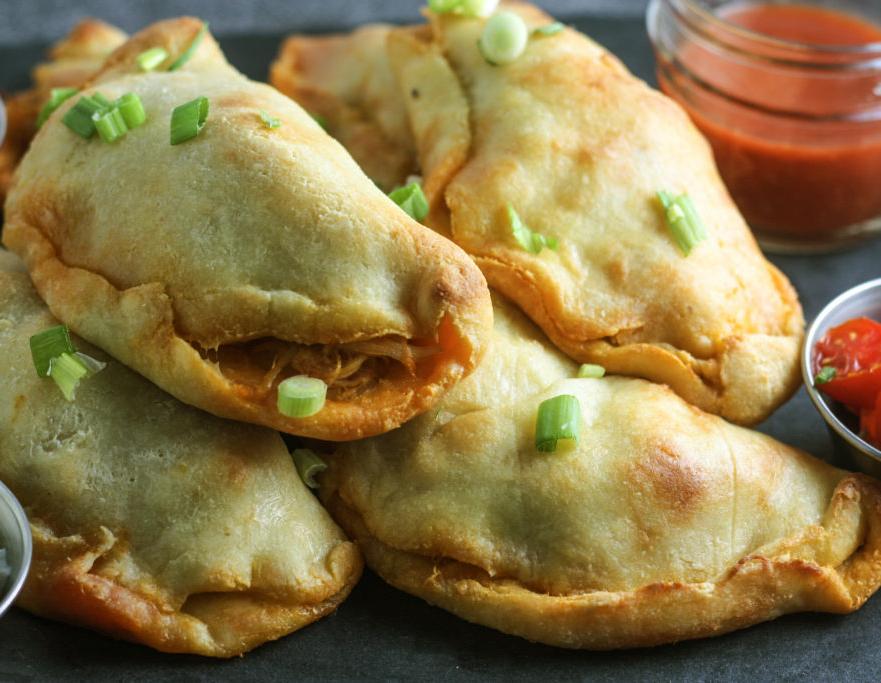 Keto - Buffalo Chicken Empanadas