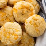 KETO CHEDDAR GARLIC BISCUITS