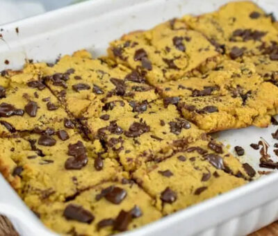 Keto Chocolate Chips Bars