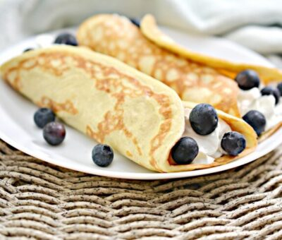 Keto Cream Crapes