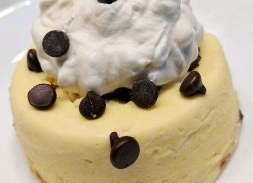 Keto Chocolate Chip Cheesecake