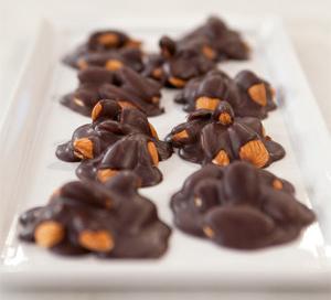 Keto Chocolate Almond Cluster