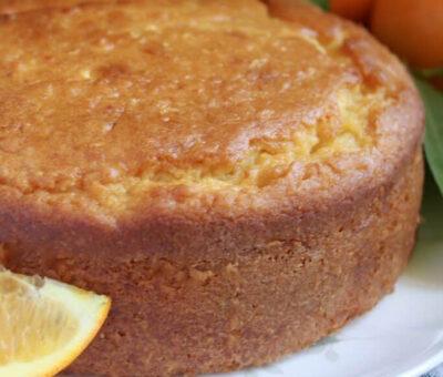 Keto Lemon Yogurt Cake