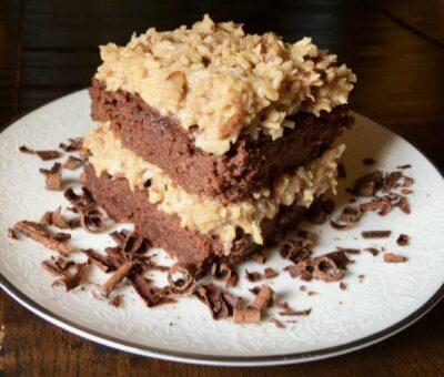 Keto German Chocolate Cake