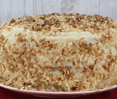 Low Carb Italian Cream Cake